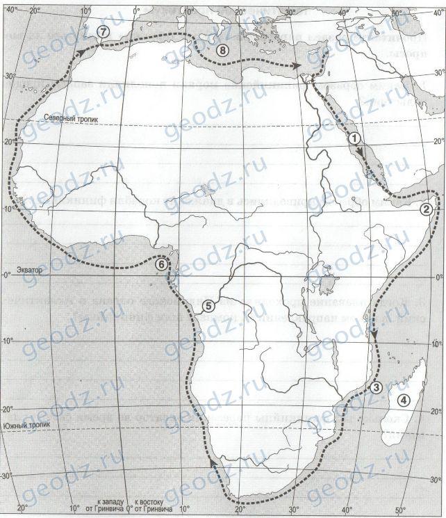 Гдз География 7 Класс Параграф 28 Таблица